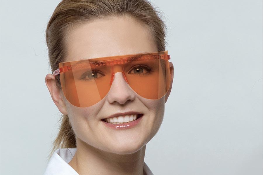 Vista Tec protezione per occhi Igieniste Assistenti Dentali