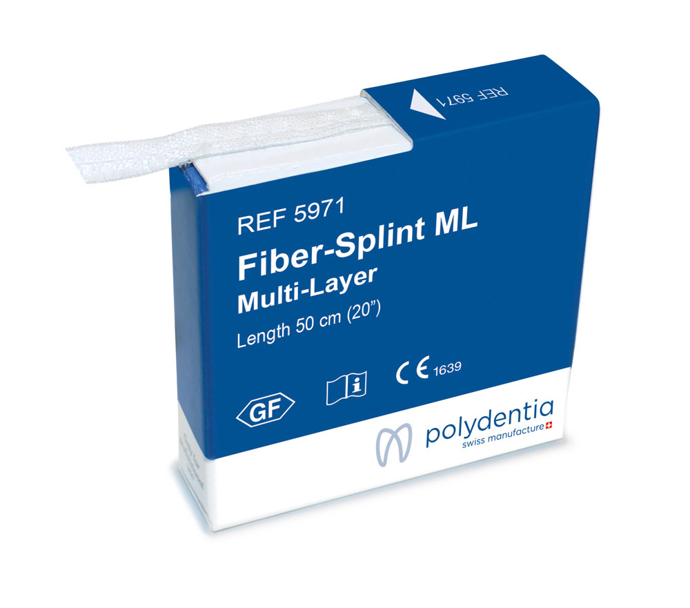 Fiber-Splint Multi layer per splinting dentali