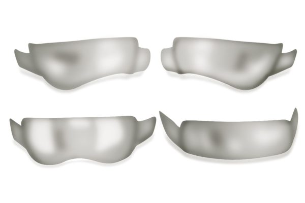 Contoured anatomic matrices dental