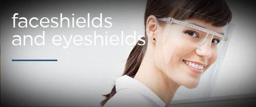 faceshields and eyeshields