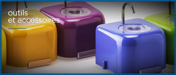 outils et accessoires odontologie dentisterie