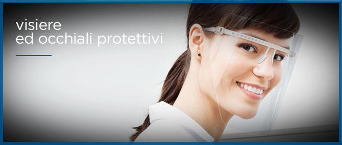 visiere e occhiali protettivi