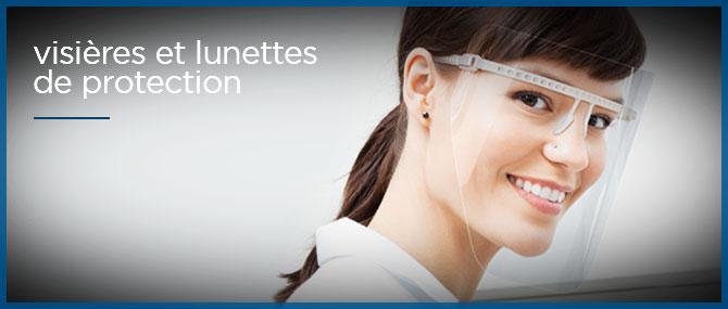 visieres et lunettes de protection