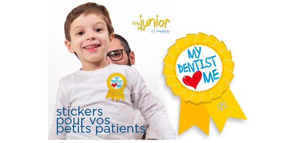 sticker pour les meilleurs patients de dentisterie pédiatrique