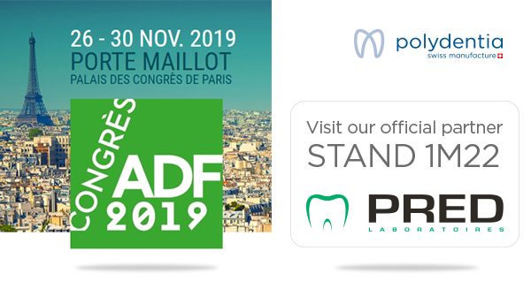 ADF Paris 2019 Polydentia système de matrices sectorielles solutions dentaires