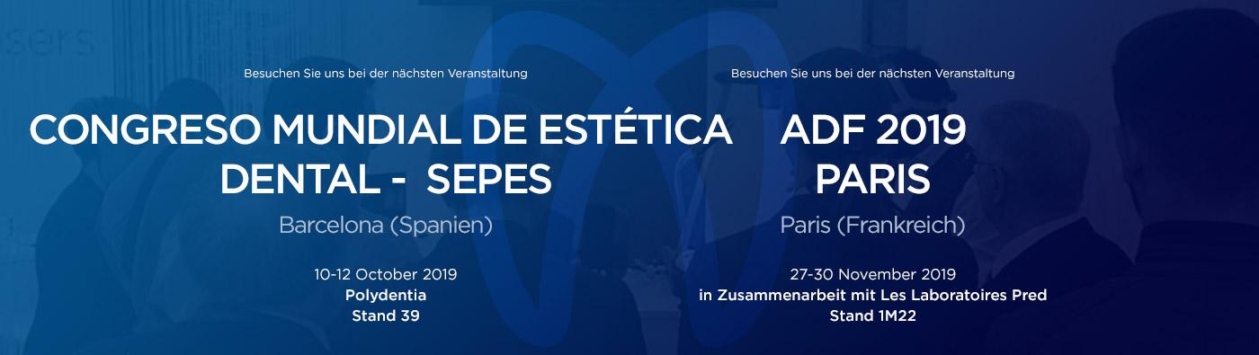 Dentalmessen und Veranstaltungen SEPES - ADF 2019