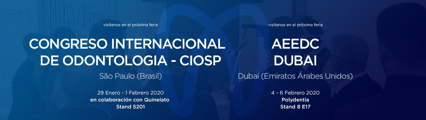 ferias y eventos dentales CIOSP BRASIL / AEEDC DUBAI 2020