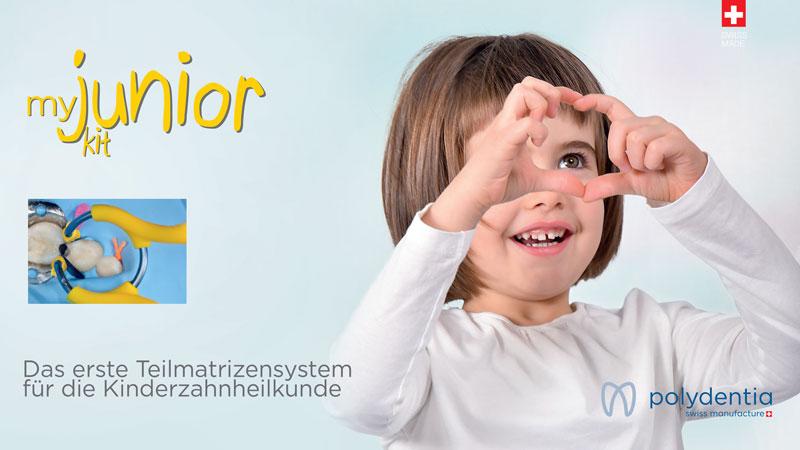 myJunior pediátrico sistema de matrices seccionales para odontología pediátrica