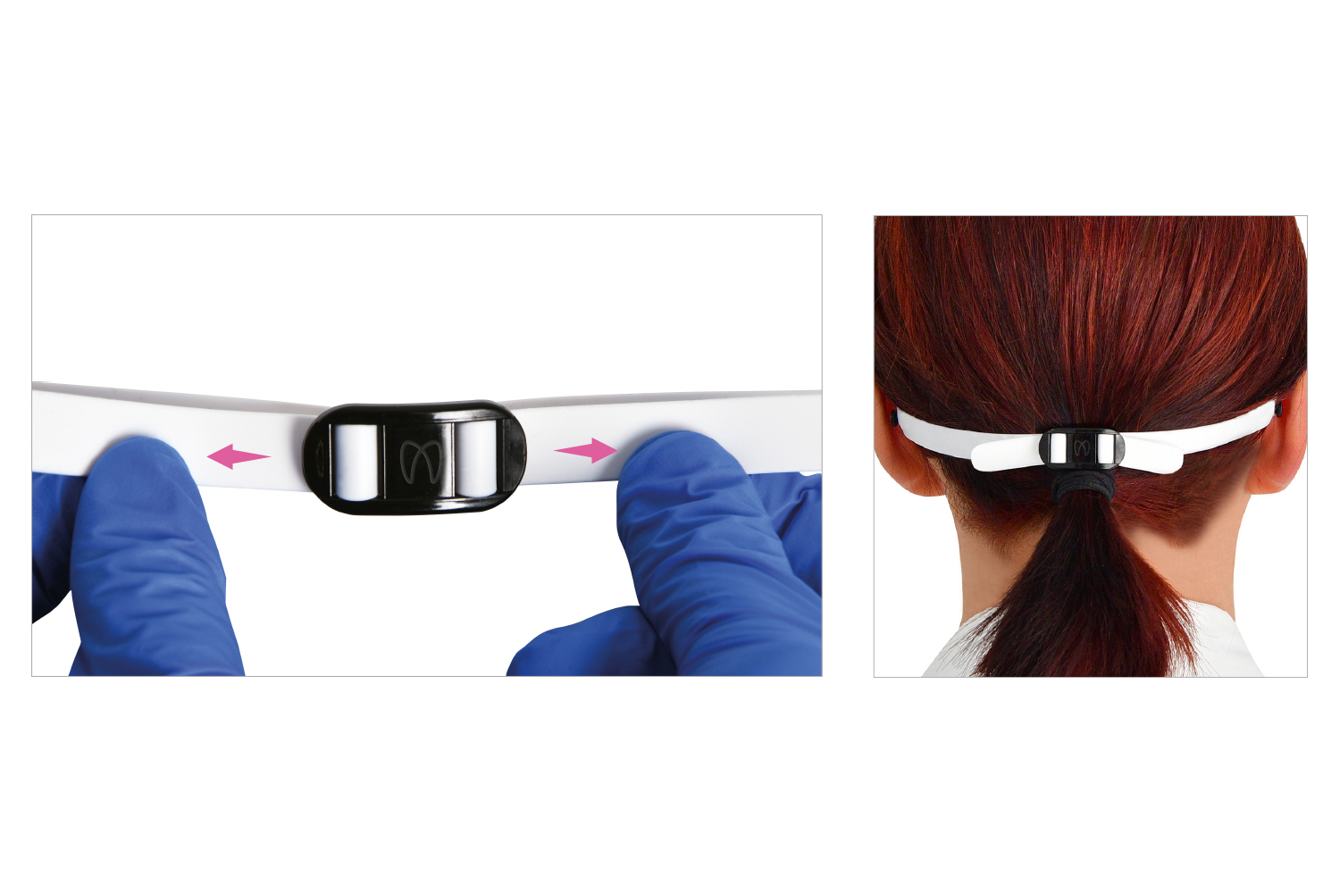 Polydentia - Vista-Tec laStoria protective face-shield adjustable headband