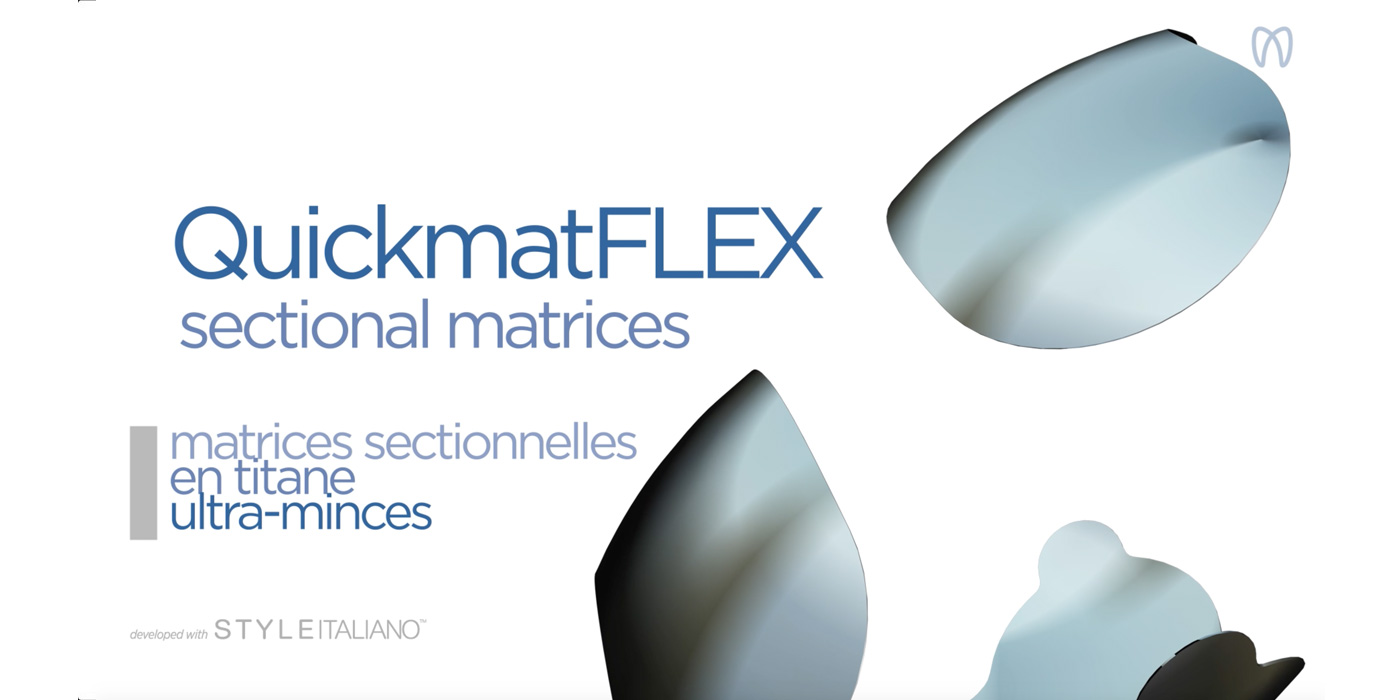 New QuickmatFLEX sectional matrices